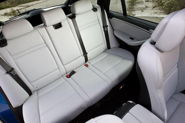 2012 BMW X5 M Back Interior