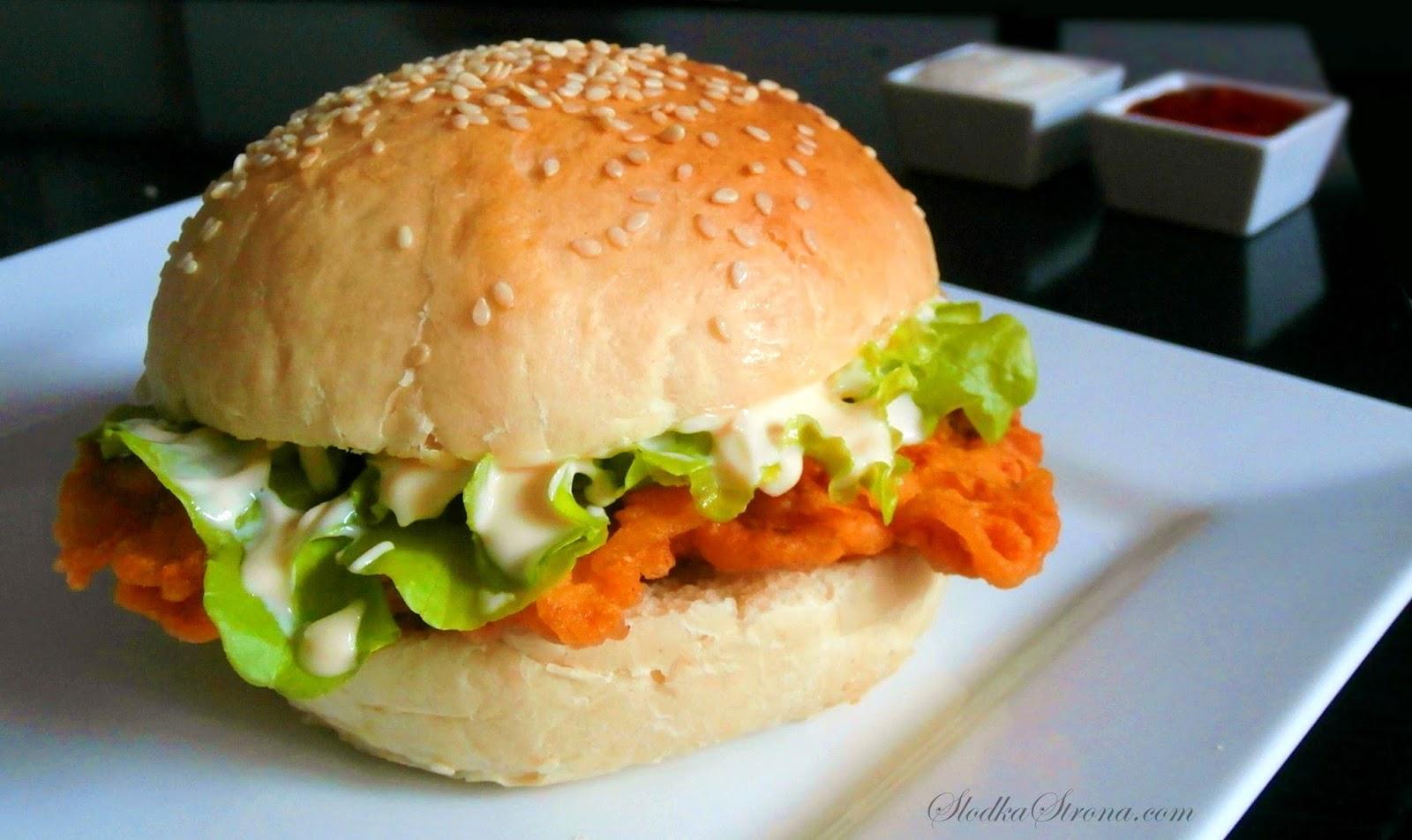 Domowy Zinger KFC - Przepis - Słodka Strona