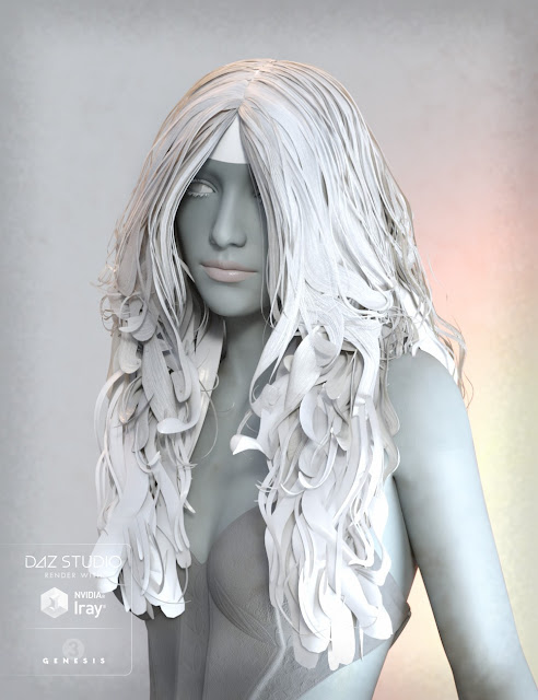Mada Hair Genesis 3 Female, Genesis 2 Female and V4
