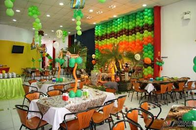 festa na selva