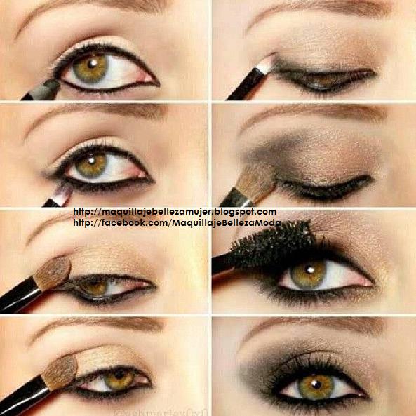 Maquillaje de Ojos para Novias Paso a Paso | Pink Smokey ...