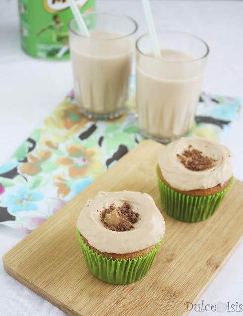 Cupcakes de Milo y Leche Condensada