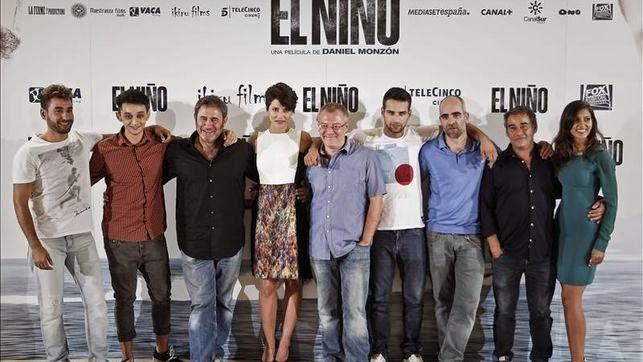 Algunos integrantes de la película El Niño