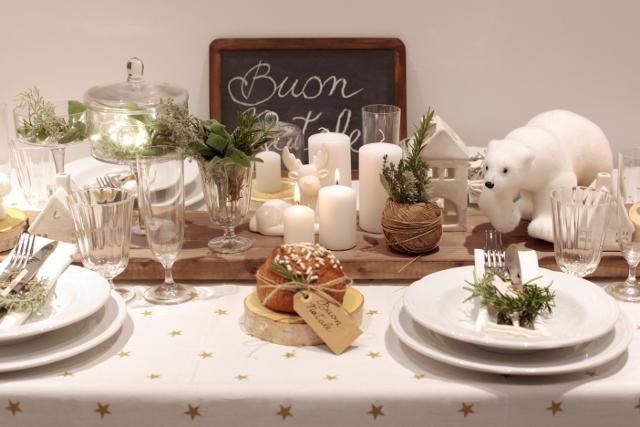 Decorazioni Da Tavola Per Natale : Appunti di casa una tavola per natale con croff e casafacile