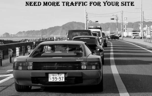 more traffic for blog