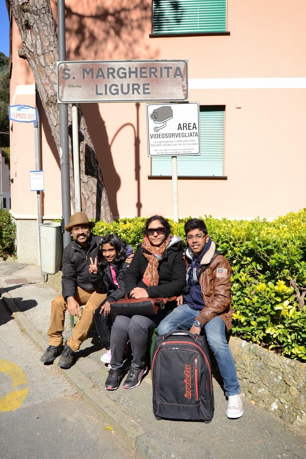 Crew members @ Portofino