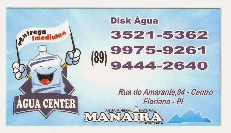 DISC ÁGUA - Água Center MANAÍRA