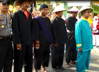 Kirab Parak Iwak 2015 dipimpin Wabup Hadi Supeno