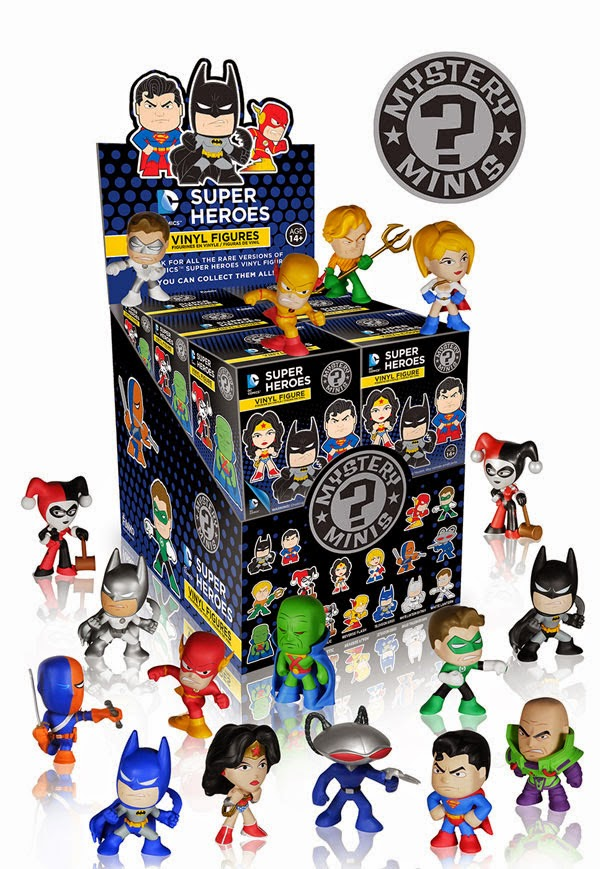 DC Comics Mystery Minis Blind Box Series 2 by Funko
