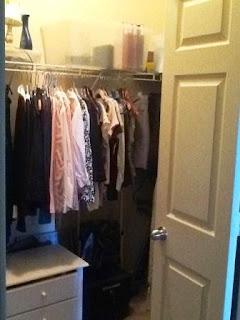 Closet Organized with KonMari Method