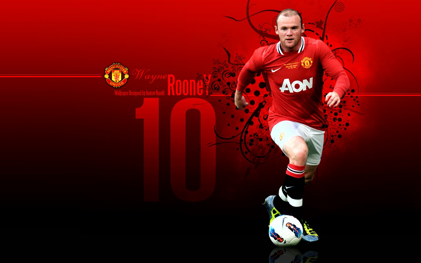Wayne Rooney Wallpapers 2014