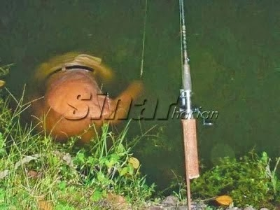 lemas ketika memancing