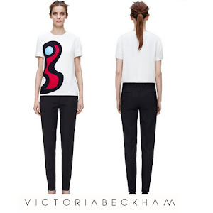 Princess Victoria Style - VICTORIA BECKHAM Top and Trousers