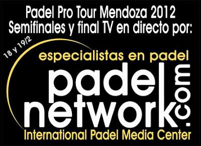 Padel Pro Tour Mendoza 2012 semifinal y final TV en directo