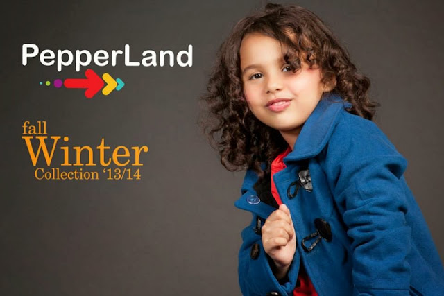 Pepperland Stylish Fall Winter Collection 2013-14 Kids Dresses