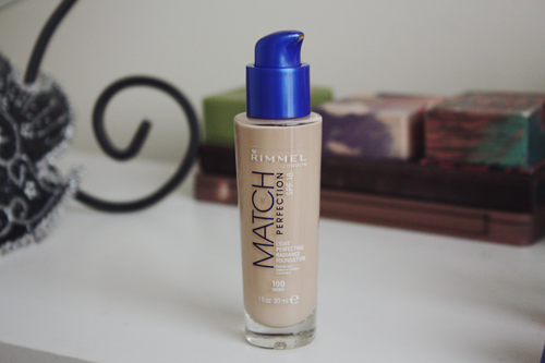 rimmel match perfection foundation 100 ivory
