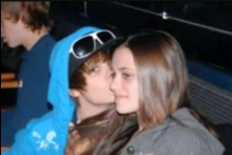 never say never justin bieber s girlfriend