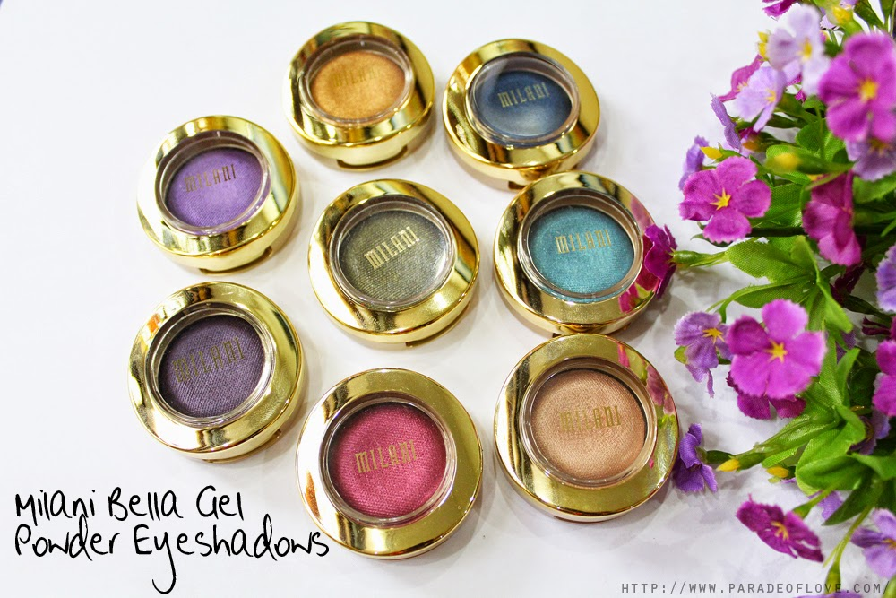 Milani Bella Gel Powder Eyeshadows