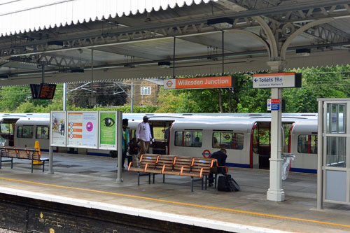Willesden Junction Station, Harlesden, West London, UK