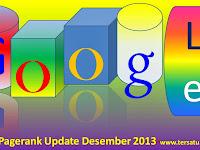Update Pagerank Desember 2013 Antara Sedih Dan Senang