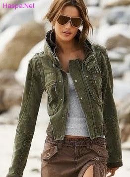Yeni Moda Bayan Deri Mont Modelleri
