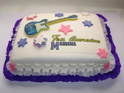 Torta Guitarra Hannah Montana