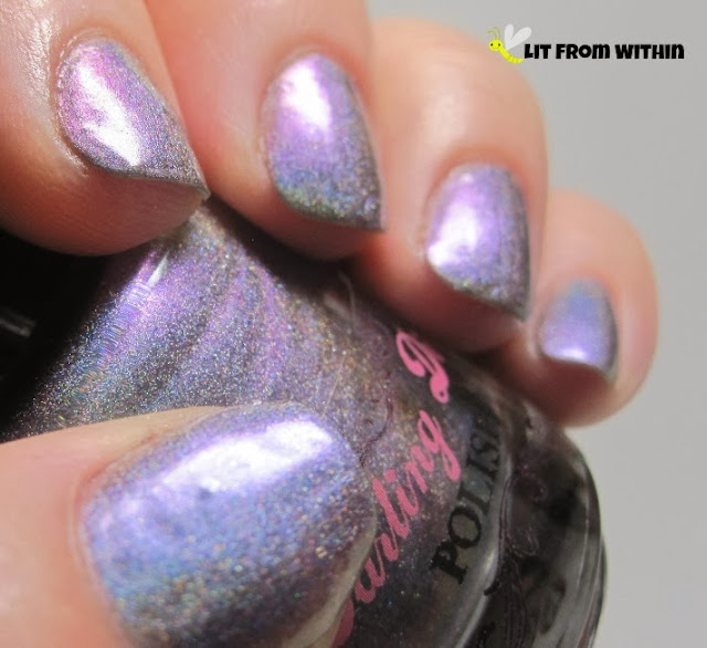 Another stunning multichrome holo polish