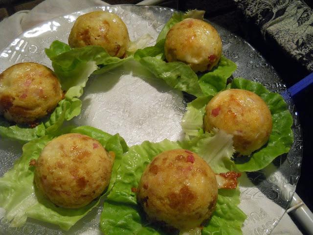 cupolette salate con asiago e pancetta