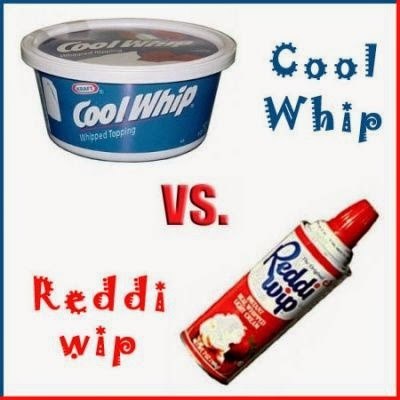 cool whip vs reddi-wip graphic