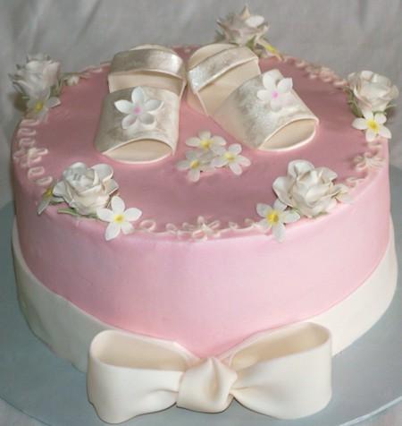 Cake Designs For A Girl Baby Shower : The Baby Shower Fiestas: Fotos de Tortas o Pasteles para ...
