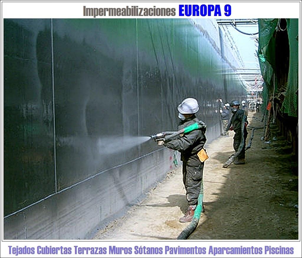 Europa 9 aplicaciones de poliurea y poliuretano - Impermeabilizantes para piscinas ...