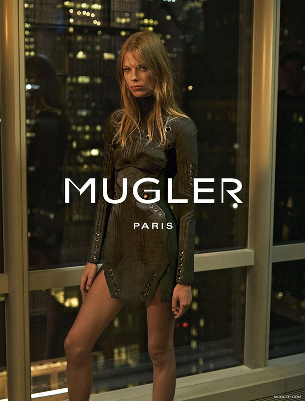 Mugler Fall/Winter 2015 Campaign featuring Lexi Boling