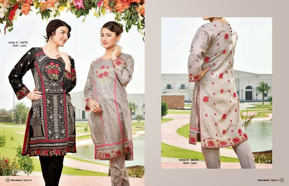 Pakistani women lawn dresses