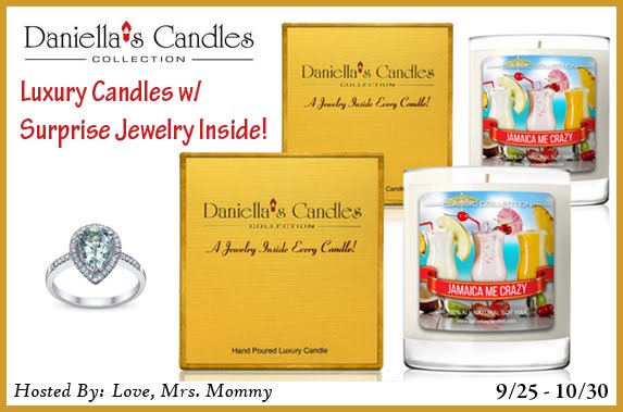 Daniella's Candle Giveaway