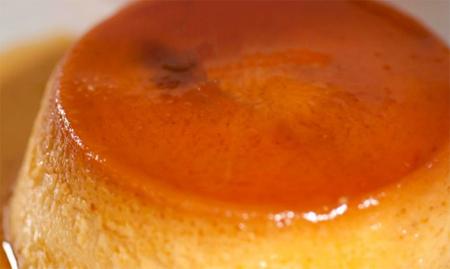 Receta del flan de queso a la naranja al microondas