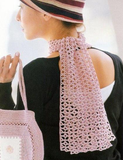Bufandas muy originales. Un buceo por la red y me encuentro con estas bellezas que comparto con todas ustedes