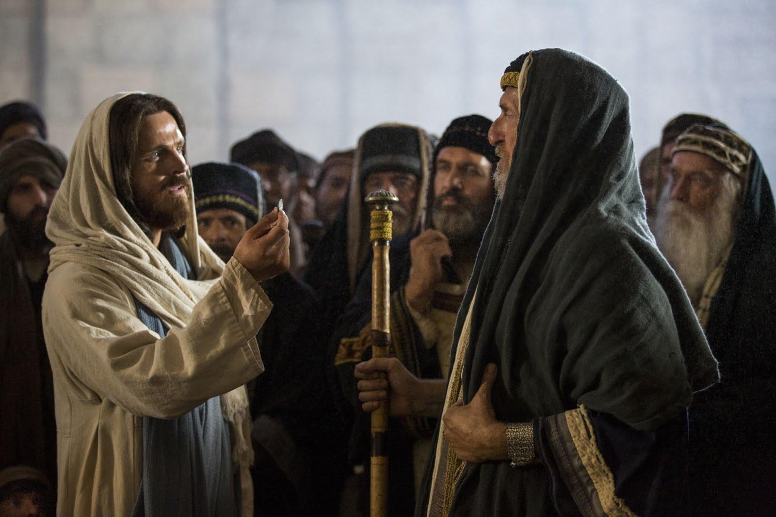 JESUS DESMASCARA A FALSIDADE DOS GRANDES