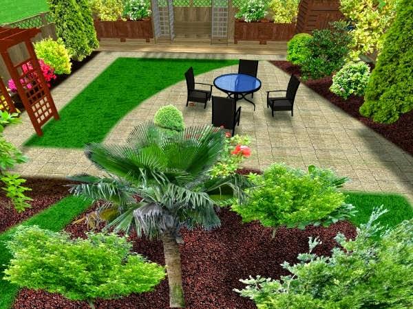 Foto Desain Taman Rumah Minimalis Sederhana 2