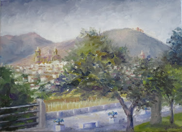 Jaén desde La Alameda (4F)