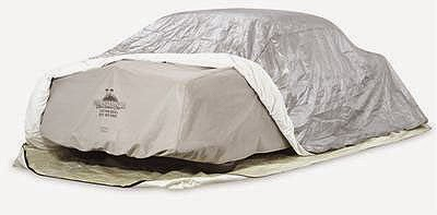 Covering Classic Cars Winter Auto Storage Solutions From