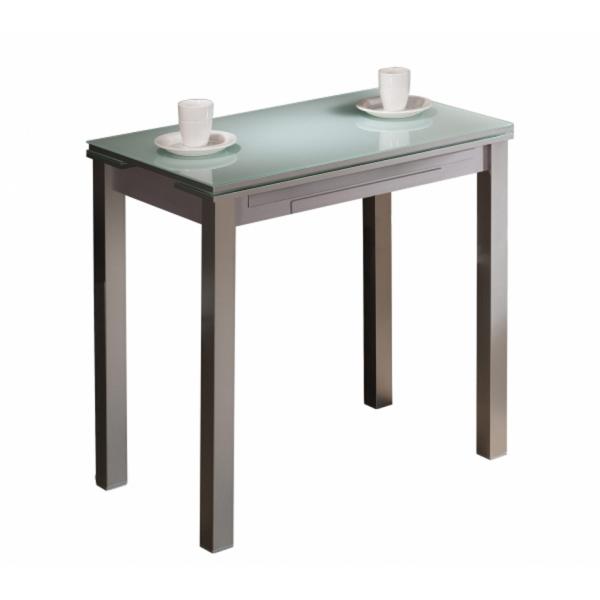 mesa cocina estrecha extensible ancho AMPLA