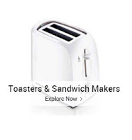 Buy Toasters & Sandwich Makers upto 79% off from Rs. 649 : BuyToEarn