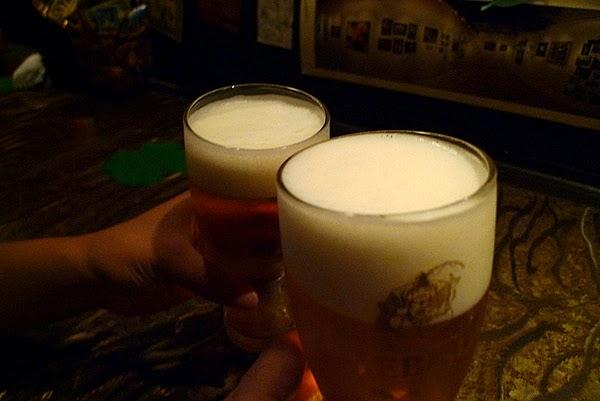 四条大宮スピナーズ 生ビール2
