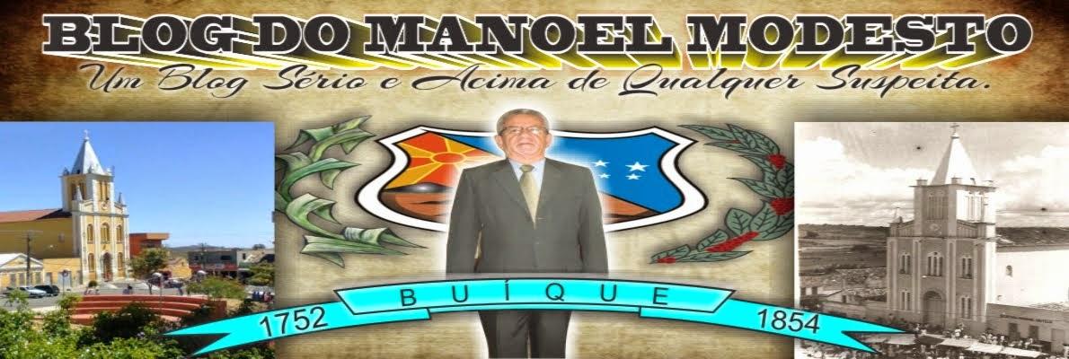 BLOG DO MANOEL MODESTO