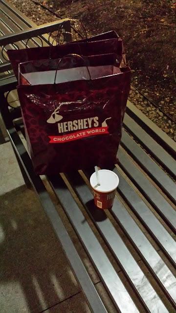 2016 trip to chocolate world. saving money tips.. at thethriftygroove.com