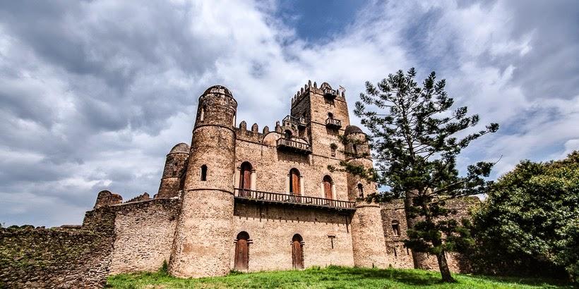 Királyi Körzet. Gonder, Etiópia.