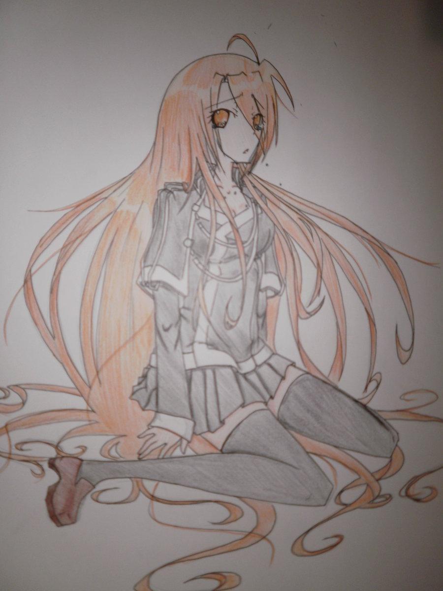 foto de Sad Girl Crying Anime Look 24