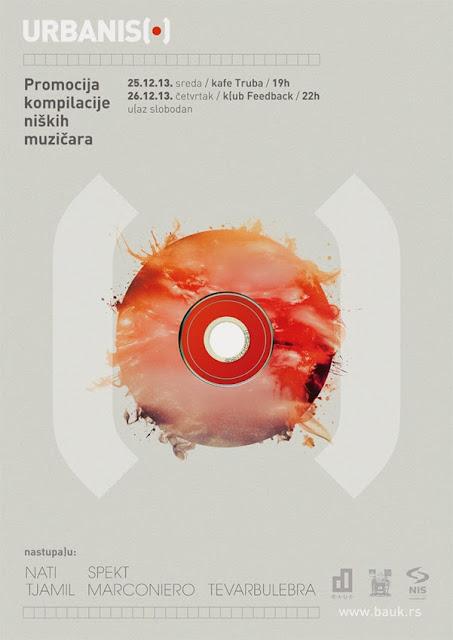 Promocija prve URBANISH kompilacije niških muzičara
