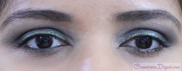 Birthday party FOTD with smoky eye makeup