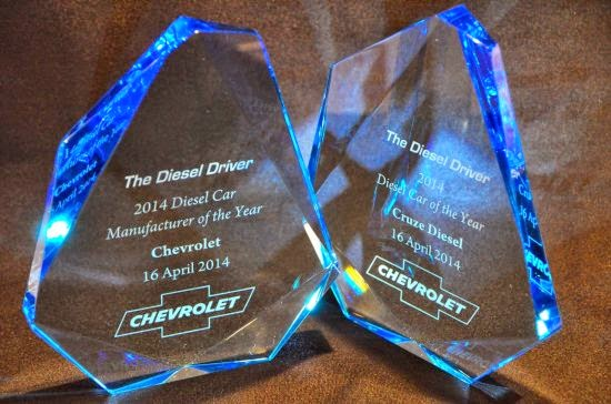 Chevrolet Named Diesel Car Manufacturer of the Year